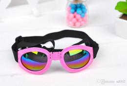 2019 gafas de plástico para perros Gafas de sol para mascotas Gafas plegables de plástico plegable para perros Lentes polarizadas completas Gafas de sol de protección solar a prueba de viento 5 2jn BB gafas de plástico para perros baratos