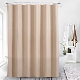 2019 camelos plásticos Camel cor sol flor impressão digital à prova d 'água espessamento chuveiro cortinas para banheiro com fecho de Plástico Acessórios Do Banheiro para o Banho camelos plásticos barato