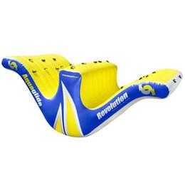 Scivoli d'acqua gonfiabili in piscina online-Lo stagno dello stagno gioca lo scorrevole divertente di toteter del teeter gonfiabile per il materiale del CE ROHS dei giochi dell'acqua su durevole