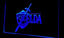 Wholesale Games Places - F223 Legend-of-Zelda-Video-Game NEW 3D LED Neon Light Sign Retail and Dropshipping Wholes 8 colors Customize on Demand