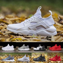Wholesale White For Men - Air Huarache Ultra running shoes Triple white black Huraches Running trainers for men & women outdoors shoes Huaraches sneakers Hurache