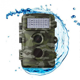Wholesale Waterproof Infrared Video Camera - Wholesale-Outdoor Waterproof Motion Detection Scouting Hunting LED Video Recorder Night Vision Scouting IR Infrared Wildlife Trail Camera