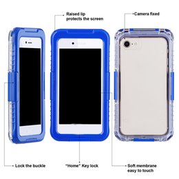 Nuevos casos móviles de llegada online-Nueva llegada IP68 a prueba de golpes a prueba de golpes a prueba de polvo Funda para teléfono móvil para Samsung Galaxy S8 S8 Plus S9 S9plus iPhone 8 7 6 plus