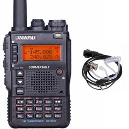 Micro-casques radio en Ligne-UV-8DR radio bidirectionnelle longue distance 136-174 / 400-520 mhz portable jambon CB radio émetteur-récepteur avec casque UV-8DR