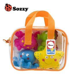 Wholesale Usa Swim - USA SOZZY High Quality Children Bathing Swimming Toys Animal Shape and Vehicle Shape Water Spray Toys