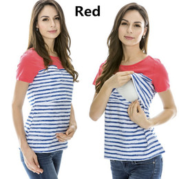 de644acb054 Emotion Moms Maternity Clothes Maternity Tops Nursing Clothes Nursing  Breastfeeding Tops for Pregnant Women Maternity T-shirt discount nursing  clothing for ...