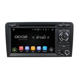 Auto dvd audi online-Reproductor de DVD del coche para Audi A3 7 pulgadas Andriod 6.0 2GB RAM con GPS, control del volante, Bluetooth