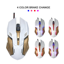 Wholesale Mice Definition - High quality Wired gaming mouse Macro definition programming Mechanical mouses with heavy iron and night glowing for computer gamer
