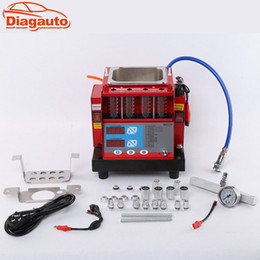 Wholesale fuel injector tools - Diagauto Car Washing Tool 220V 110V 4 cylinder Fuel Injector tester & ultra Cleaner MST-30 nozzle washing machine