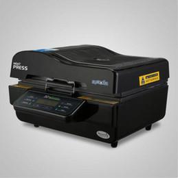 Прессы для печати онлайн-Машина 3D вакуумной сублимации 3D тепла пресс многофункциональный трехмерное изображение фото цифровой черный 3D вакуумный принтер