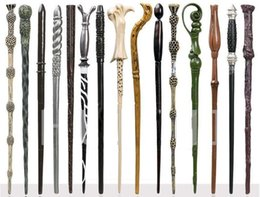 Wholesale wand styles - Party Creative Cosplay 32 Styles Hogwarts Harry Potter Series Magic Wand New Upgrade Resin Harry Potter Magical Wand