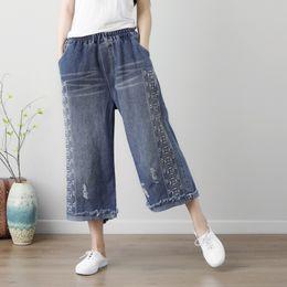 Wholesale korean fashion pants for women - Plus Size Harem Pants Boyfriend Jeans for Women Print 2018 Spring Summer Baggy Women's Trousers Pantalones Mujer Korean Fashion