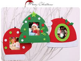 Tavolo per foto online-Fashion Natale Photo Frame multifunzione di alberi ornamentali per la casa decorazioni da tavola 3 stili Decorazioni di Natale per il partito