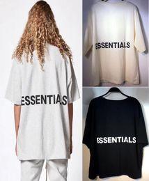 nueva colección de hombres de la camisa Rebajas 2018ss Summer Best Quality Fear Of God Nueva Colección Logo Impreso Mujeres Hombres Camisetas camisetas Hiphop FOG Hombres Algodón Camiseta S-XL