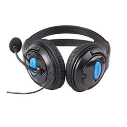 microphone for gaming UK - Gaming headphone Earphone Gaming Headset Headphone Headset 3.5mm port with microphone for playstation 4 laptop phone for Xbox One pc ps4
