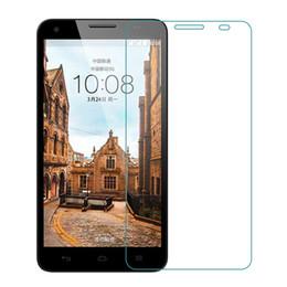 Película de huawei 3x online-9H HD 2.5D Protector de pantalla de cristal protector para Huawei 3X 4C 4X 5X Protector de película de protección para Huawei Play 5X V8 Enjoy5 Play6