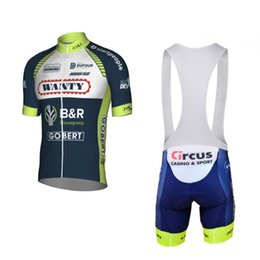 Wholesale cycling pro team kit - 2018 new eroupe tour pro team wanty cycling jerseys kits Ropa Ciclismo summer Bicycle maillot MTB bike clothing gel pad