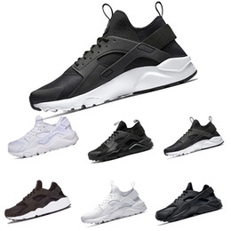 Wholesale Golf Iv - Newest Huarache 4 IV Running Shoes For Men Women, Black White Red Sneakers Triple Huaraches Jogging Sports Shoes Eur 36-45