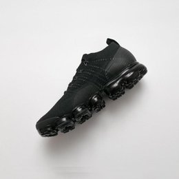 Wholesale cross stitch cotton fabric - 2018 all moedel black white vapormax triple Sneaker cross Speed Trainer Stretch Breathable Socks Men women running Shoes 36-45