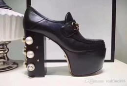 4c0803d4f9ef7d AAAAA Qualität Frauen besetzt Leder Horsebit Loafers Stiefel Schuhe