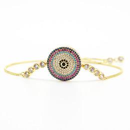 хрустальная окантовка Скидка Оправа для крошечного циркония CZ Zircon Crystal Регулируемые браслеты для женщин