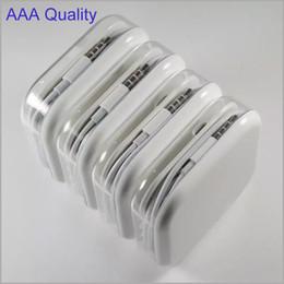 100% de prueba Auriculares AAA de 3,5 mm Auriculares estéreo con oreja y micrófono Control de volumen Auricular para i 5 6 7 Plus Samsung S4 S5 iPhone Android MQ200 desde fabricantes