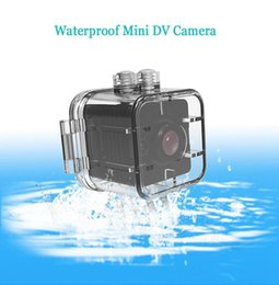 Wholesale Touchscreen Case - Mini Camera HD 1080P Sport Action Camera with IR Night Vision & Motion Detection Portable DV Recorder with 30 Meters Waterproof Case