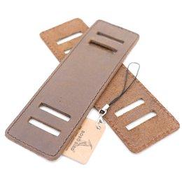 correa de cuero larga relojes mujeres Rebajas BOBO BIRD Relojes de madera antiguos ancho correa de cuero genuino 14.6 mm de largo para los hombres relojes de las mujeres como regalo
