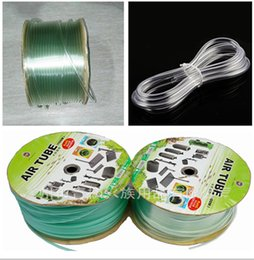 Wholesale Tubing Wholesalers - 2M  Lot Aquarium Air Pump Flexible Airline Tubing 4mm Co2 System PVC Air Tube Clear Plastic Hose Pipe