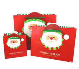 Canada Carré Santa Claus Motif Soulevez La Corde Rouge Sac Sac De Noël Emballage Sacs Durable Haute Qualité 1 5hj3 aa Offre