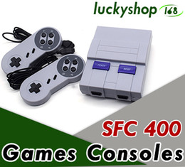 Wholesale Console Games - Mini Game Console Video Handheld for SNES games consoles with retail box free shipping 50X