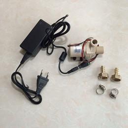 2019 engrenagem óleo bomba hidráulica 24V DC Power Pump, brushless, silenciado, resistência de alta temperatura, bomba de circulação de água de reforço, bomba multiuso para mergulho e não-vivo
