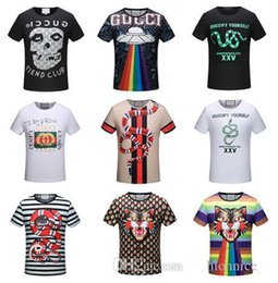 Wholesale Tiger Print T Shirts Women - 2018 New T-shirt Fashion Tiger Printed Women And Men's Casual Summer Printing Brand Students Short Sleeve Tops Tees Shirt T For Men Tshirts