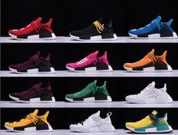Wholesale Boot Box Clear - Hot Sale Men Women Casual Shoes Unisex Originals Lightweight Boots Pharrell Williams X NERD Classic Hu Trail NERD Shoes With Box 36-48