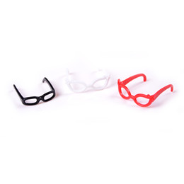 Wholesale 4pcs set Dolls Accessories Different Plastic Glasses For Monster Doll For Doll the best Christmas gift