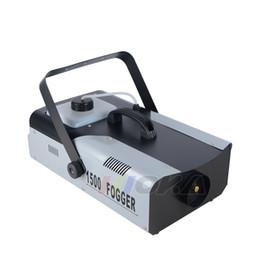 Wholesale Wiring Fog - Moka MK-F16 1500W Fog Machine Smoke Machine Wire Control Remote Control for Pub Bar DJ Stage Effect Equipment
