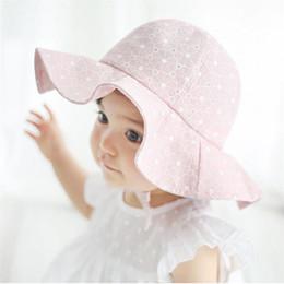 284e80ee534 Cherry Pills  3005 Summer Cute hat Toddler Infant Kids Sun Cap Summer  Outdoor Baby Girls Boys Sun Beach Cotton Fashion Hat