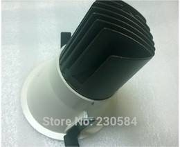 Wholesale Unique Knobs - 100-240v special unique anti-dazzle design 8w directional downlight recessed into ceiling replacement for traditional lamp bulb