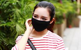 50 adet Anti-Toz Pamuk Ağız Yüz Maskesi Unisex Adam Kadın Bisiklet Giyen Siyah Moda Yüksek kalite supplier women cotton mouth mask nereden kadın pamuğu ağız maskesi tedarikçiler