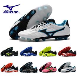 2019 messi botas negras baratos Más barato Nuevo Mizuno Rebula V1 Botas de fútbol para hombre Zapatos de fútbol Botas BASARA AS WID Zapatillas deportivas de deportes de fútbol sala al aire libre de depredador caliente 40-45