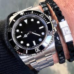 Wholesale hand digital - 2018 Luxury Brand Automatic Watch 116710 Black Blue Ceramic Bezel Watch Stainless Clasp Mens Women Fashion Master Watches