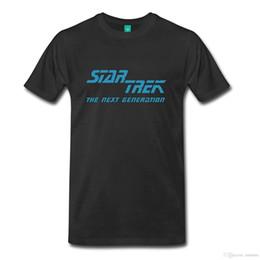 STAR TREKKING The Next Generation Logo Camiseta premium para hombre Adultos Camiseta informal Hipster Tees Summer Camiseta para hombre desde fabricantes
