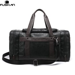 Wholesale Side Bags Men - Brand Leather Travel Bags With Side Pockets For Men,New Fashion Hasp Luggage Travel Man Bag,Casual Male Business Bolsas new 2017