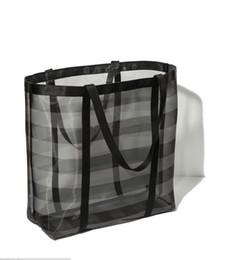 weiße farbe handtaschen Rabatt 2018 Frauen Casual Tote Weiblich Täglichen Gebrauch Weiblichen raster Einkaufstasche Damen Einzelne Schulter Handtasche Einfache Strandtasche