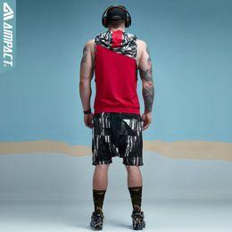 coupe à capuche Promotion Camouflage Patchwork Débardeur sans manches à capuche Crossfit Bodybuilding Workout Fitness Muscle Cut Mâle Réservoir