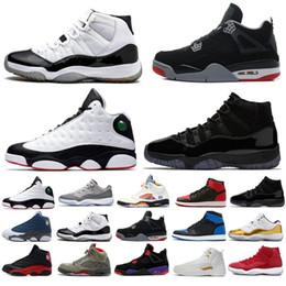 huge selection of d4447 6b09e Neue 2018 11 13 12 4 1 5 11s 13s 12s 4s 1s 5s Gym Rot Cool Grey Concord Cap  und Kleid Prom Night Sport Sneakers Damen Herren Basketball Schuhe coole  kleider ...