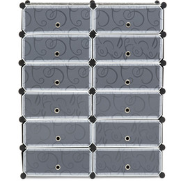 Wholesale Product Cabinets - Best Choice Products 12 Cube Shoe Storage Cabinet Organizer DIY Shoe Rack