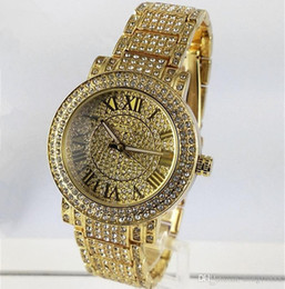 a808e5712edd 2019 relojes de oro de diamante de mujer 2018 Steel diamond Dial Luxury AAA  Mens Womens