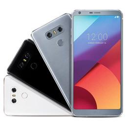 Wholesale Smart Phone 4gb Ram - Refurbished Original LG G6 H870DS H870 H871 VS988 G600 5.7 inch Quad Core 4GB RAM 32 64GB ROM 13MP Unlocked 4G LTE Smart Phone DHL 1pcs