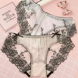 b205ae900 transparent temptation panties Desconto Transparente Sem Costura Lace Sexy  Net Fios Calcinha cintura Baixa dentro Tentação